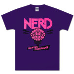 N*E*R*D Purple Brain T-Shirt