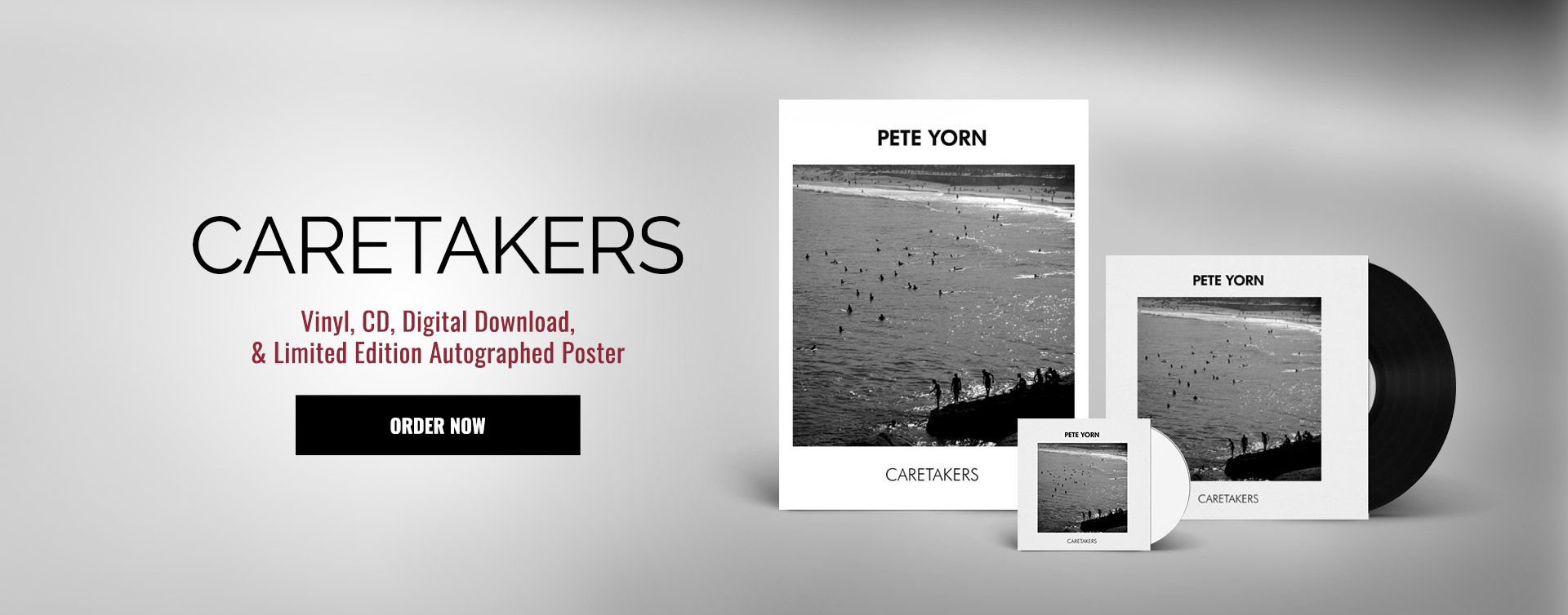 Order The New Caretakers Album and Bundles