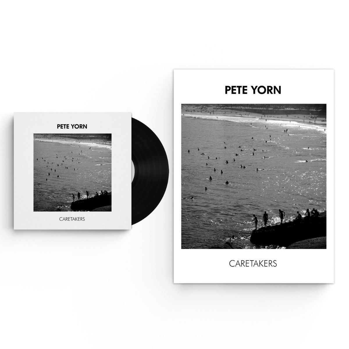 Caretakers Vinyl or Digital Download with Limited Edition Autographed Poster Bundle