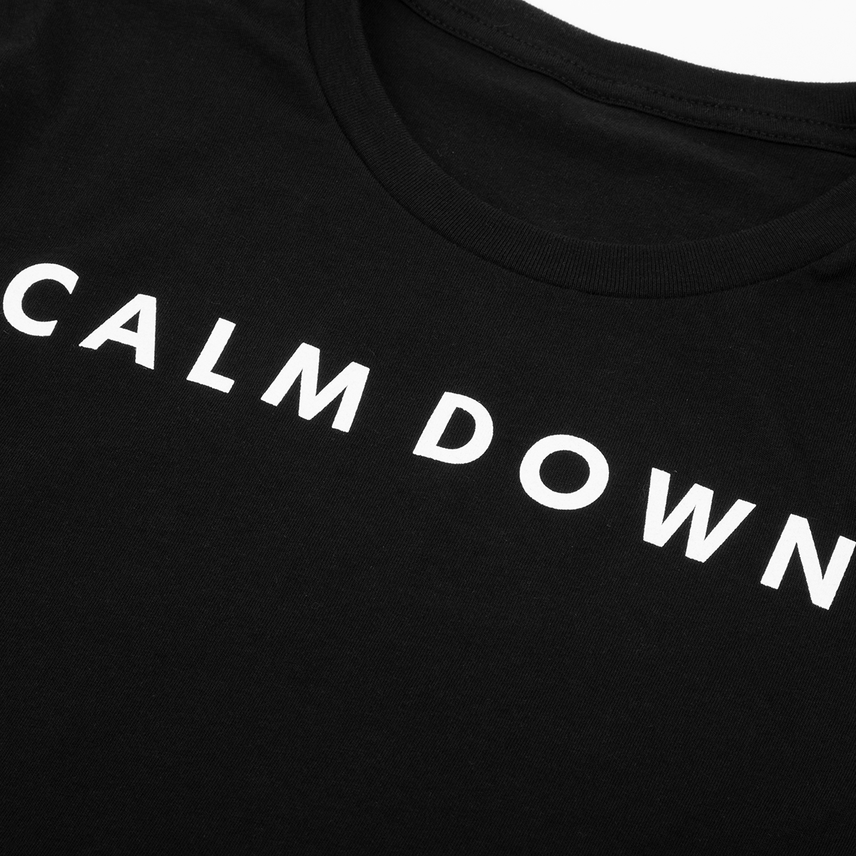 Calm Down Long Sleeve T-Shirt