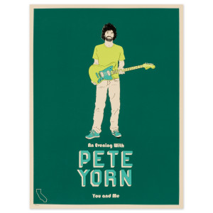 An Evening with Pete Yorn Poster