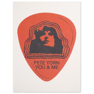 Pete Yorn Guitar Pick Poster