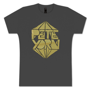 MEN'S METALLIC LOGO TEE