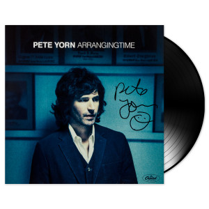 Autographed Arranging Time Vinyl