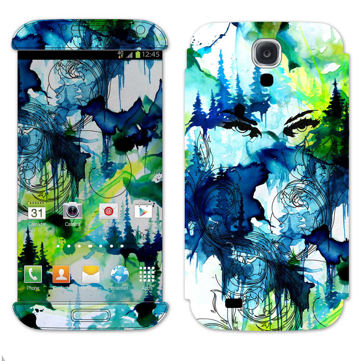 Outside Lands 2013 Custom Samsung Galaxy IV Skin
