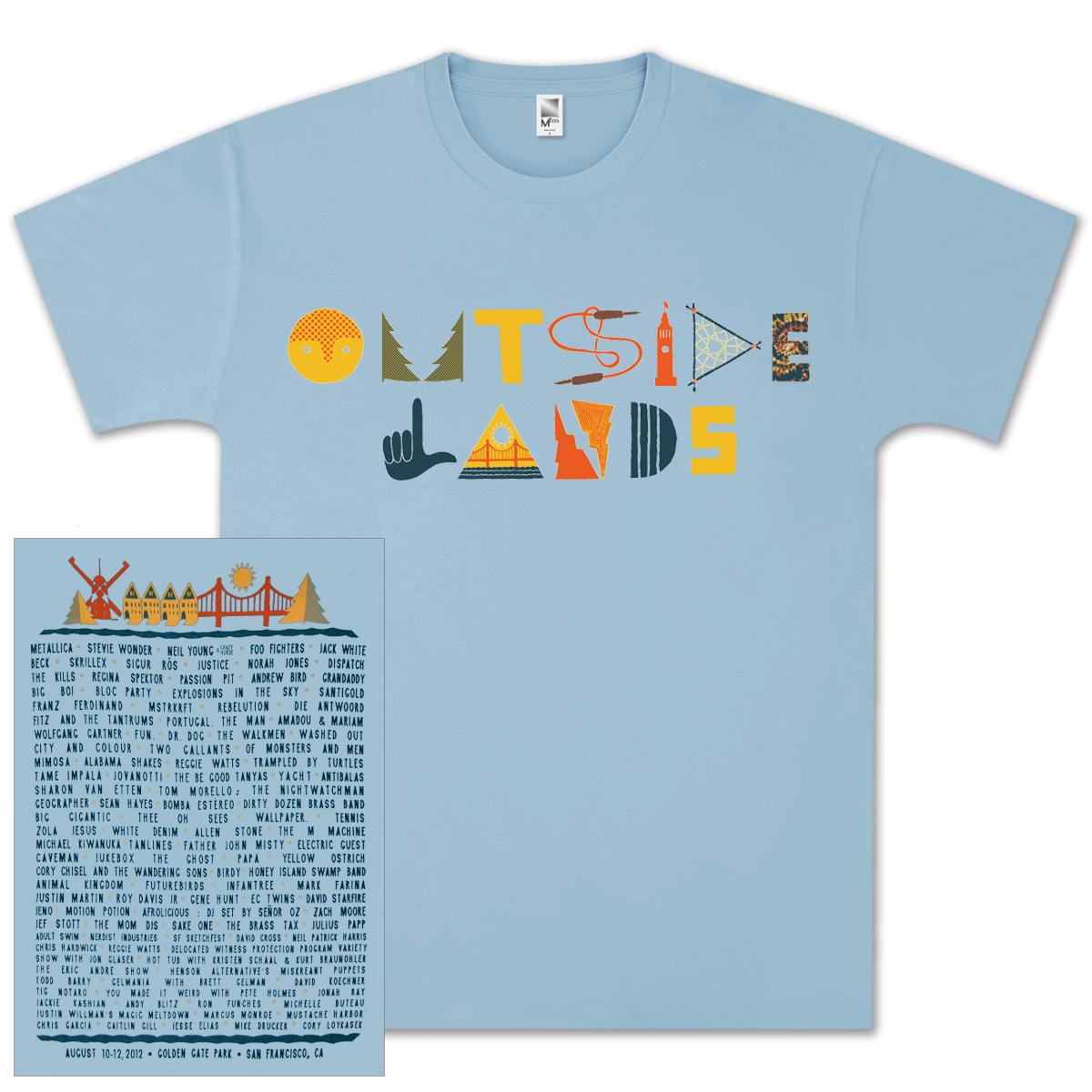 Outside Lands Knick-Knack Tee