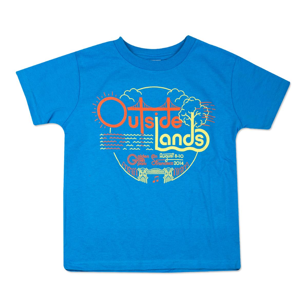 Outside Lands 2014 Toddler Circle T-Shirt