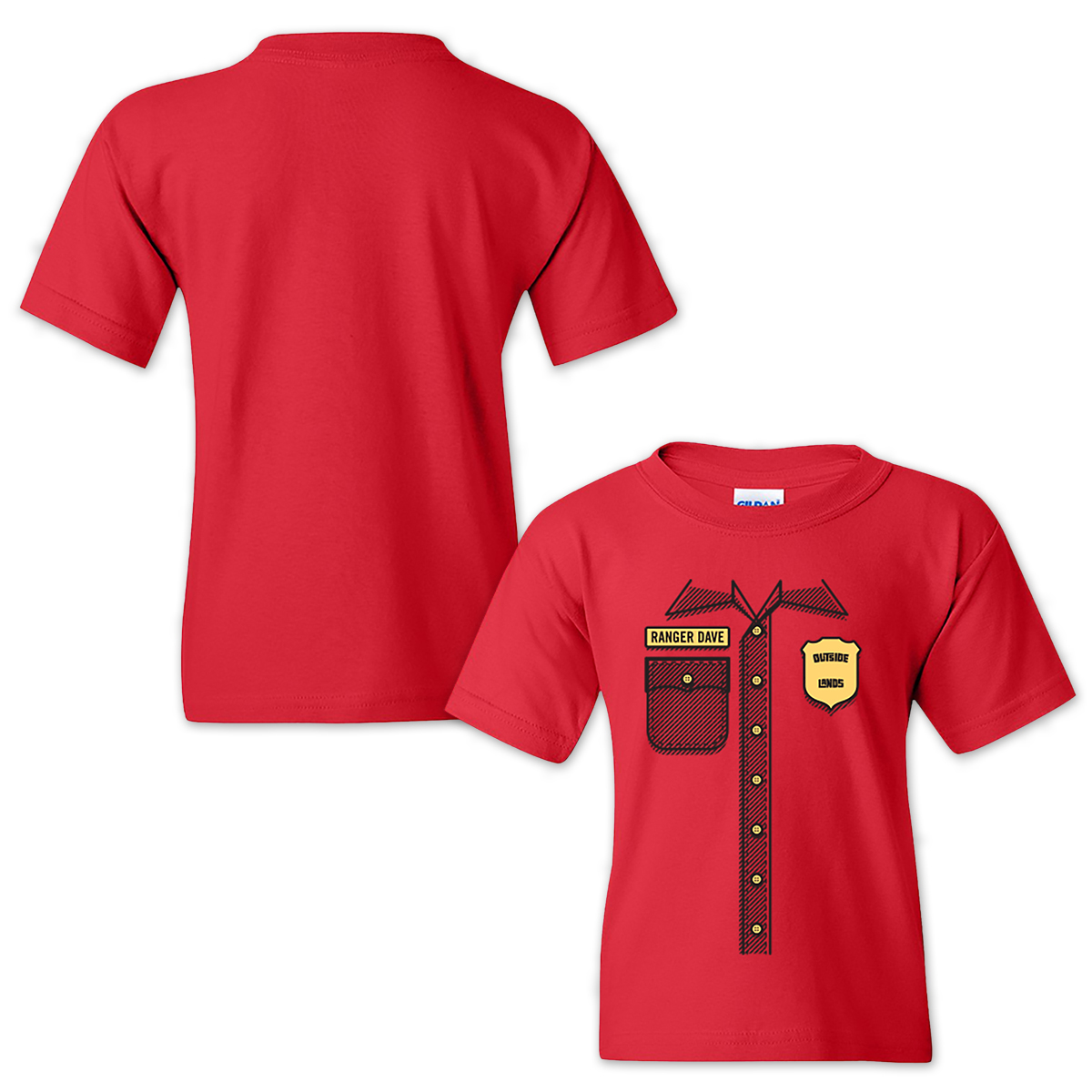 Outside Lands 2015 Youth Ranger Tee