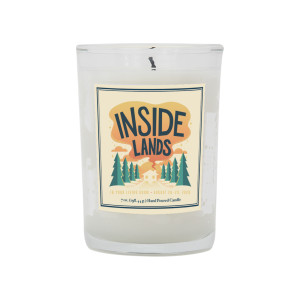 Inside Lands Candle – Midnight Woods Scent