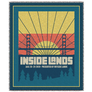 Inside Lands Sunset Blanket