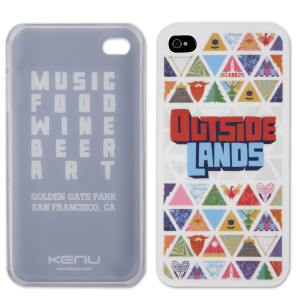 Custom Outside Lands iPhone case