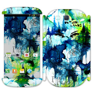 Outside Lands 2013 Custom Samsung Galaxy III Skin