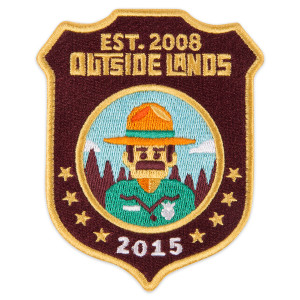 Outside Lands 2015 Ranger Dave Patch