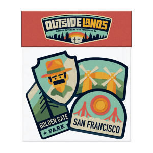 Outside Lands 4-piece Patch Set