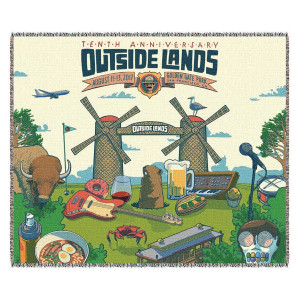 Outside Lands 10th Anniversary Blanket