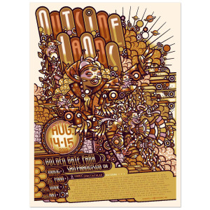 2010 Outside Lands Poster