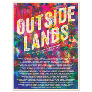 Outside Lands 2016 Event Poster – Catharsis