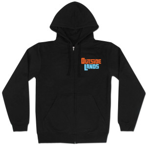 Outside Lands 2012 Zip Hoodie - Black