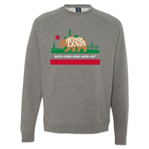 Outside Lands 2014 Bear Crewneck Sweatshirt