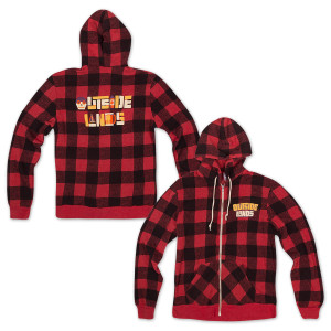 Outside Lands LogoType Buffalo Plaid Zip Hoodie