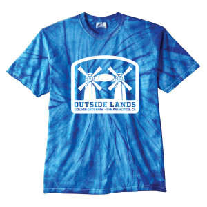 Outside Lands Tie Dye T