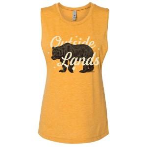 Ladies CA Bear Muscle Tank