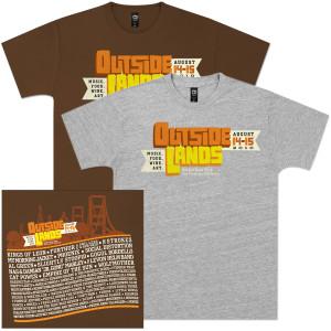 Outside Lands 2010 Main Event T-Shirt