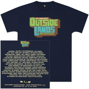 Outside Lands 2008 Men's Event T-Shirt