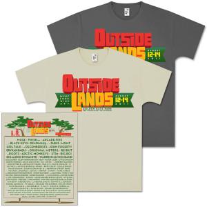 Outside Lands 2011 Men's Main Event T-Shirt