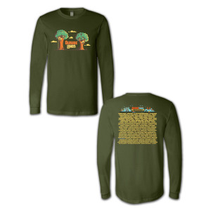 Outside Lands 2014 Treehouse Longsleeve T-shirt