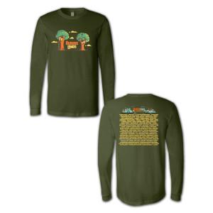 Outside Lands 2014 Treehouse Longsleeve T-shirt