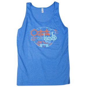 Outside Lands 2014 Circle Unisex Tank