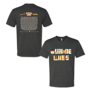 Outside Lands 2015 LogoType Event Tee