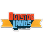 Die-cut magnet featuring the 2012 Outside Lands Logo