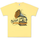 Outside Lands 2013 Justin Helton Gramophone T-Shirt