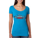Outside Lands 2015 Main Event Ladies Scoop Event Tee
