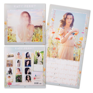 Katy Perry 2015 Square 12x12 Calendar