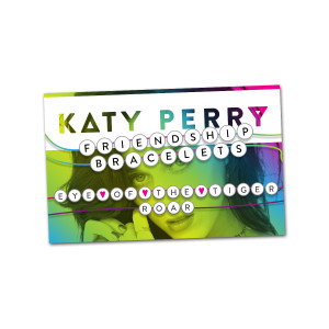Katy Perry Friendship Bracelet Set Roar