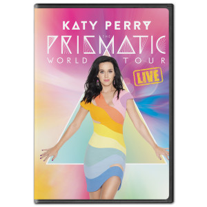 Katy Perry: The Prismatic World Tour Live DVD or Blu-ray