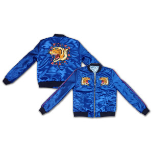 Katy Perry Eye of the Tiger Satin Girls Jacket