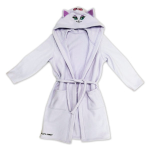 Kitty Purry Girls Bathrobe