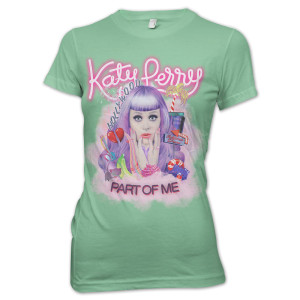 Katy Perry Part Of Me Girlie T-Shirt