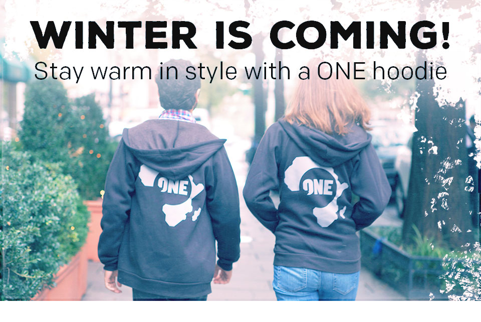 Winter is Coming! Shop ONE Hoodies