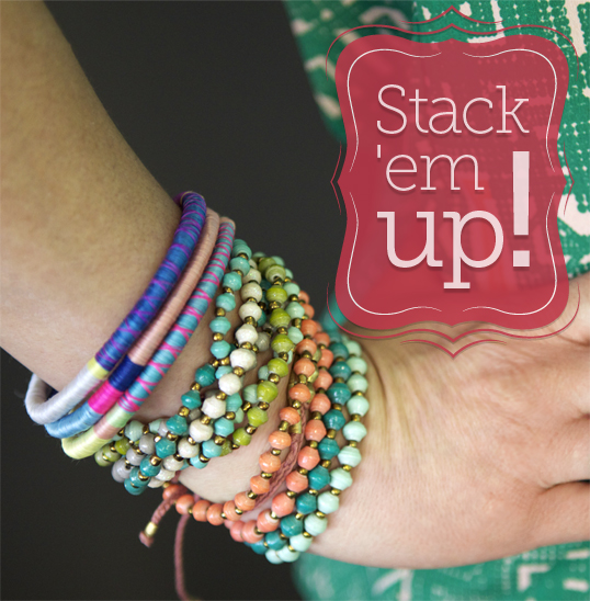 Stack up on beautiful new bracelets at the ONE Store
