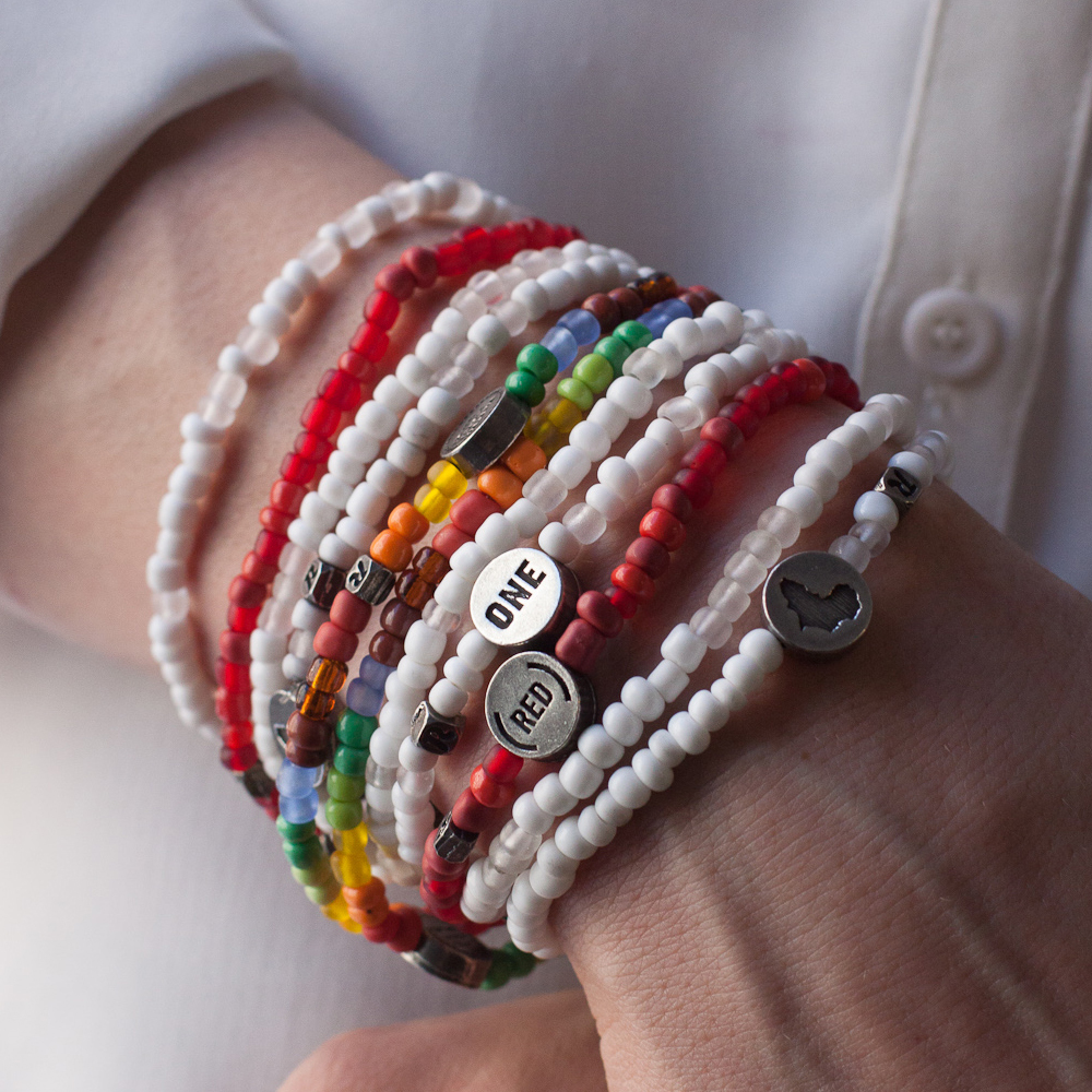 ONE United Against Malaria Bracelet