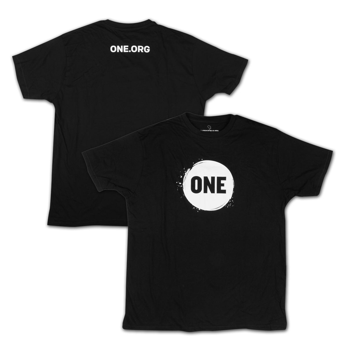 ONE Campaign Men's T-Shirt in Black