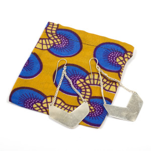 Evii Brass Earrings