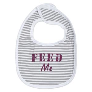 Striped FEED Bib