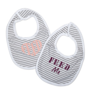 Striped FEED Bib