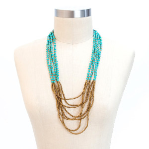 ONE Happy Night Necklace (Turquoise)